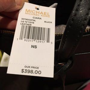 Michael Kors Bags - 🔥🔥🔥Michael Kors LG zip top Ciara tote